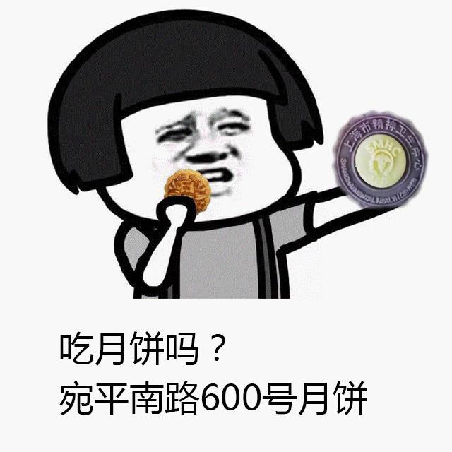 宛平南路600号月饼表情包_上海精神病医院月饼